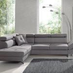 Bestmobilier – Lisbona – Canapé d'angle Gauche Convertible – L 252 x P 190cm