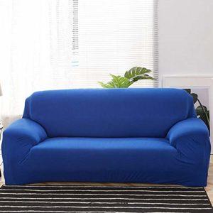 xrglz Housse de canapé d'angle Extensible, Housse de canapé élastique, Housse de Fauteuil en L dans Le Salon, Housse de Protection Tout Compris-Color_6_3-Seater_190-230cm