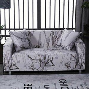 ASFT Housse de canapé Floral Housse de canapé élastique pour Salon Canapé d'angle sectionnel Moderne Housse de canapé Housse de canapé 1/2/3/4 Places, Couleur 28,3 Places 190-230cm